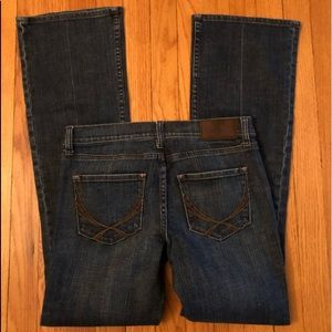 Pink Victoria's Secret Denim Jeans Boot Cut Sz 6R